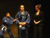 Louis Mecansi als  Marc, Tim Krause als Tristan, Janine Karthaus als Bragane