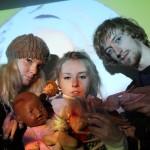 von links nach rechts : Simone Appel Eva Schilling, Benedict Hegemann